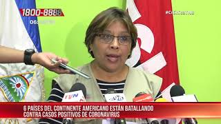 MINSA brinda reporte sobre más países infectados con coronavirus – Nicaragua