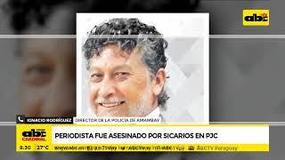 Periodista fue asesinado por sicarios en PJC