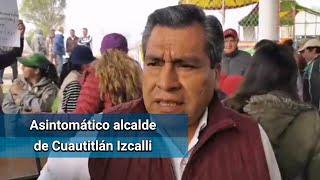 Presidente municipal de Cuautitlán Izcalli da positivo a Covid-19