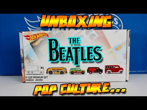 "HOT WHEELS - THE BEATLES 2017 ""TOYS R US EXCLUSIVE"" POP CULTURE"