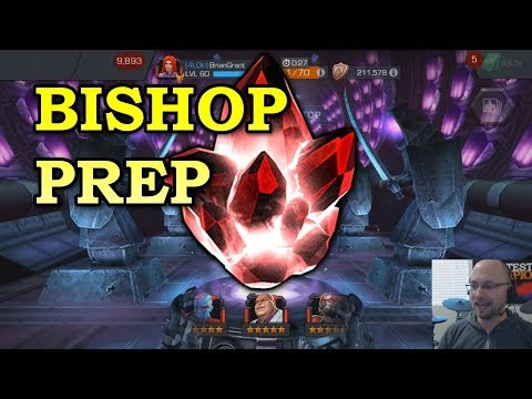 connectYoutube - Bishop Prep: 5 star Opening + Rank Ups | Marvel Contest of Champions
