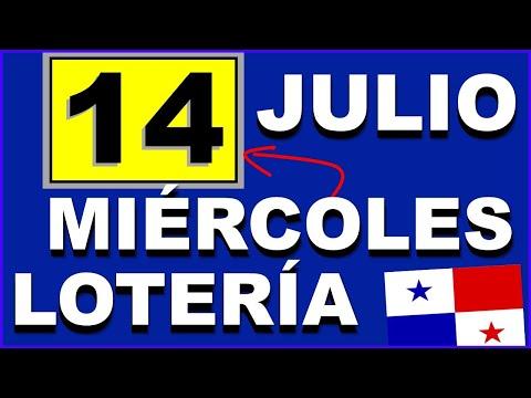 Resultados Sorteo Loteria Miercoles 14 de Julio 2021 Loteria Nacional de Panama Miercolito Que Jugo