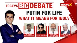Putin for life: What it means for India? | NewsX - NEWSXLIVE
