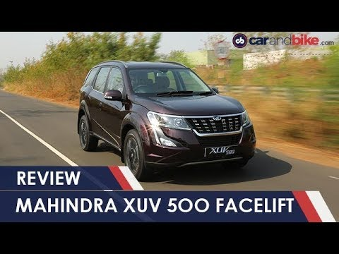 2018 Mahindra XUV500 Facelift Review | NDTV carandbike