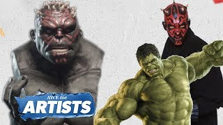 The Hulk Meets Darth Maul Sculpture Mashup - AWEMe Artists