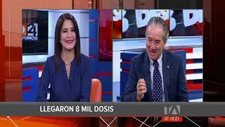 Los Desayunos 24 Horas, Juan Carlos Zevallos, sobre vacunación contra el Covid-19 en Ecuador