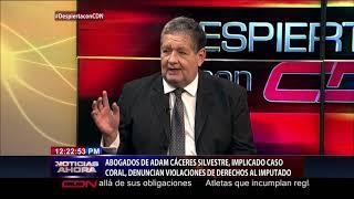 Abogados de Adán Cáceres, implicado en caso Coral, denuncian violaciones de derechos al imputado
