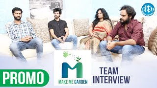 Make Me Garden Team Exclusive Interview Promo | Dil Se with Anjali #225 | iDream Movies - IDREAMMOVIES