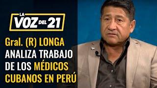 """Gral. Leonardo Longa: """"Cuba tiene antecedentes de infiltrar países"""""""