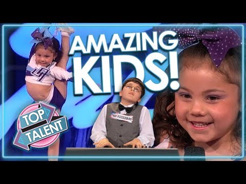 AMAZING KIDS Auditions From Around The World! INCLUDES Adrian Romoff & MORE! | Top Talent