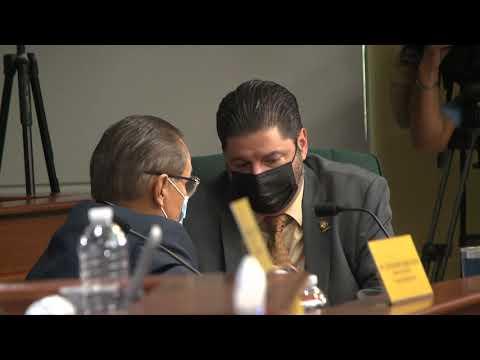 Omar Marrero responde a preguntas durante vista de confirmación como Secretario de Estado