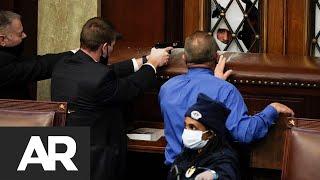 Violencia escala en Washington DC: Disparos intercambiados en Congreso