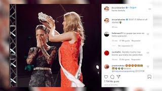 Carla Barber recuerda su triunfo en el certamen Miss España 2015