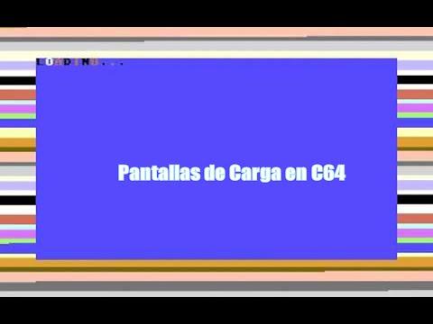 c64 para Sinvers - Las Pantallas de Carga del C64 - C64 REAL - 50hz