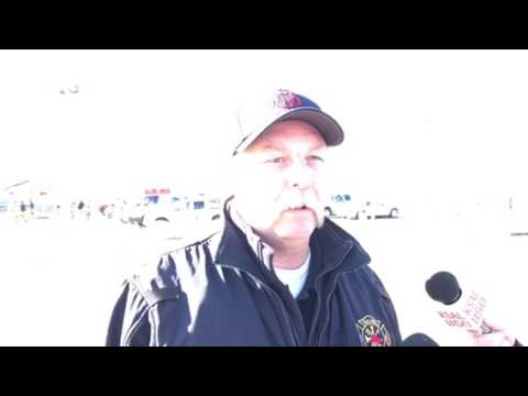 Ammonia leak update with Fire Marshal Roger Williams.