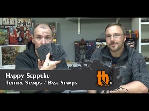 Texture Stamps von Happy Seppuku [TB-TV Shortcut #103]