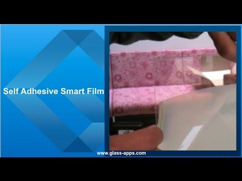 Glass Apps® Self Adhesive smart film