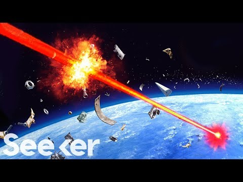 Why These Lasers Are Too Powerful to Use in Space