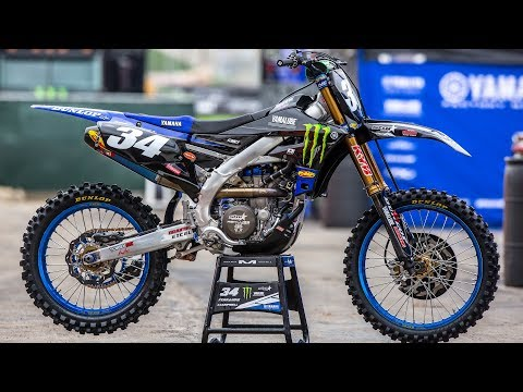 Inside Dylan Ferrandis Monster/Star Racing Yamaha YZ250F - Motocross Action Magazine