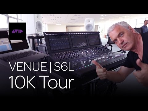 Avid VENUE | S6L 10K Tour in Southern Europe