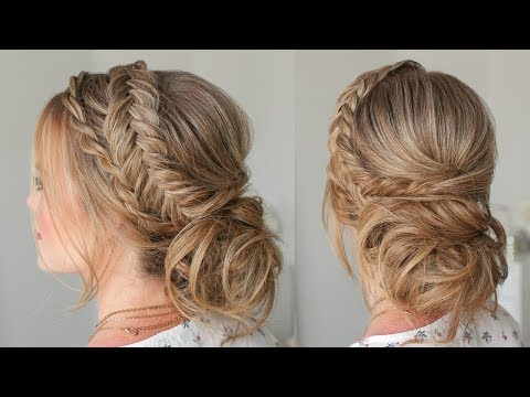 Twist Braid & Dutch Fishtail Updo | Missy Sue