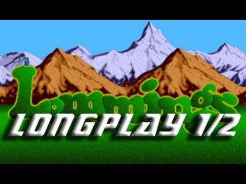 Lemmings (Commodore Amiga) Longplay 1/2
