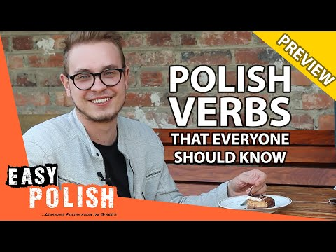 25 common Polish verbs every beginner must know (PREVIEW)   Super Easy Polish 14 photo