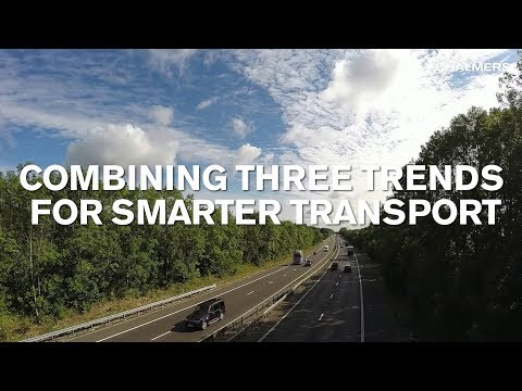 Combining three trends  for smarter transport