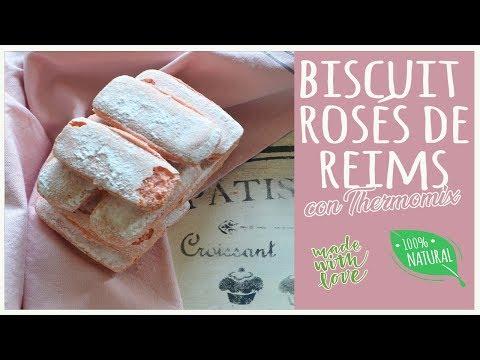 Biscuits Rosés de Reims (Galletitas francesas)
