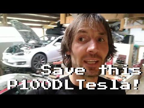 Help save my flooded Tesla S P100DL, Rich Rebuilds?