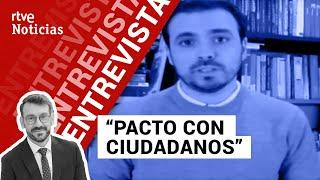 Entrevista a Alberto Garzón, ministro de Consumo, por Marc Sala | La Noche En 24h