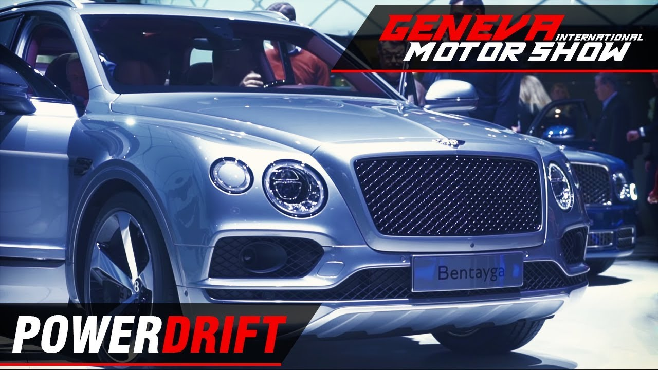 Bentley Bentayga Hybrid - Efficient luxury : Geneva Motor Show 2018 : PowerDrift