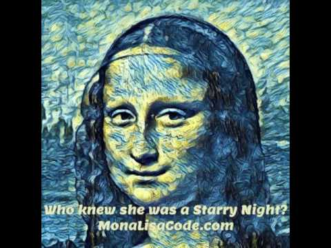 Who knew the Mona Lisa was a STARRY NIGHT?!