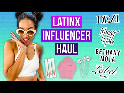 Video: Trying Hispanic-Owned Fashion At Every Price Point! [KathleenLights, Manny Mua & MORE]