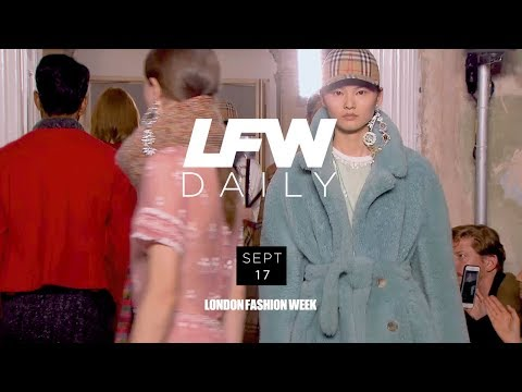 LFW September 2017   Day 2 Highlights with Adwoa Aboah