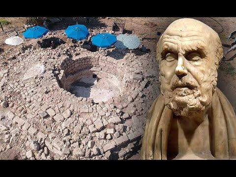 Astroloji Biliminin Kurucusu Aratos'un Anıt Mezarı, Kireç Ocağı Olarak Kullanılmış