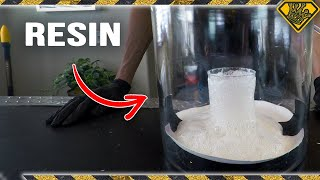 How Does Resin React in a Vacuum Chamber?