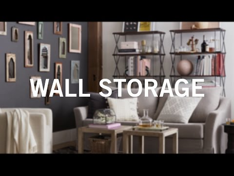 Small Space, Big Style: Wall Storage