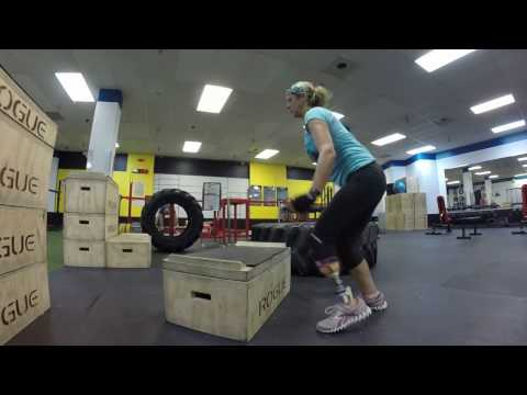 Box Jumps on the RUSH™ ROGUE