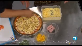 #CaféTV | Este jueves preparamos una deliciosa pizza en #SaboresYSaberes.