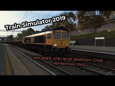 APC66EP: 6T61 16:00 Waltham Cross - Whitemoor Yard -- Livestream 24/03/2019