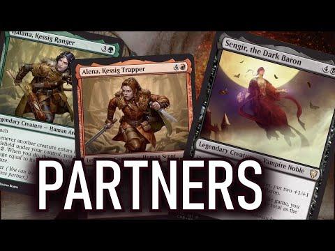 Os Partners em COMMANDER LEGENDS