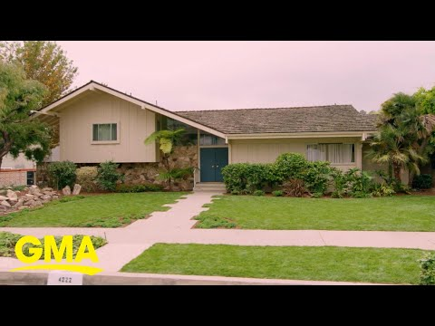 1st look at the newly-renovated Brady Bunch house l GMA