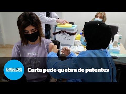 Carta aberta pede quebra de patentes de vacinas de Covid-19