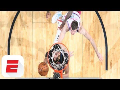 Anthony Davis and Jonas Valanciunas show off massive dunks against Heat and Raptors | ESPN