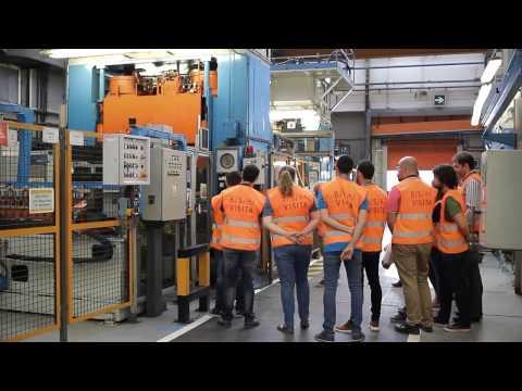 Visita a la fábrica de BSH Electrodomésticos España de Montañana