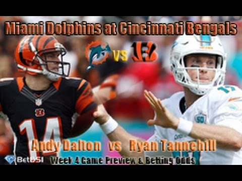 Miami Dolphins at Cincinnati Bengals | Game Analysis, Free Picks, & NFL Week 4 Betting Odds