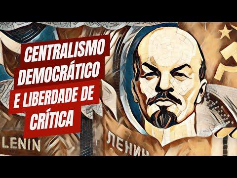 Centralismo-democrático e liberdade de crítica