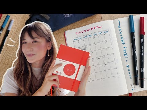 Video: plan with me ✨setting up my first bullet journal!
