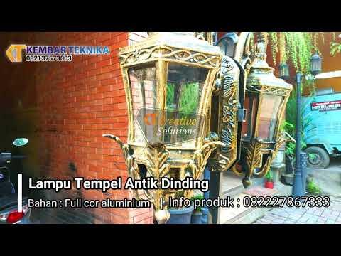 Lampu Tempel Dinding Rumah Klasik